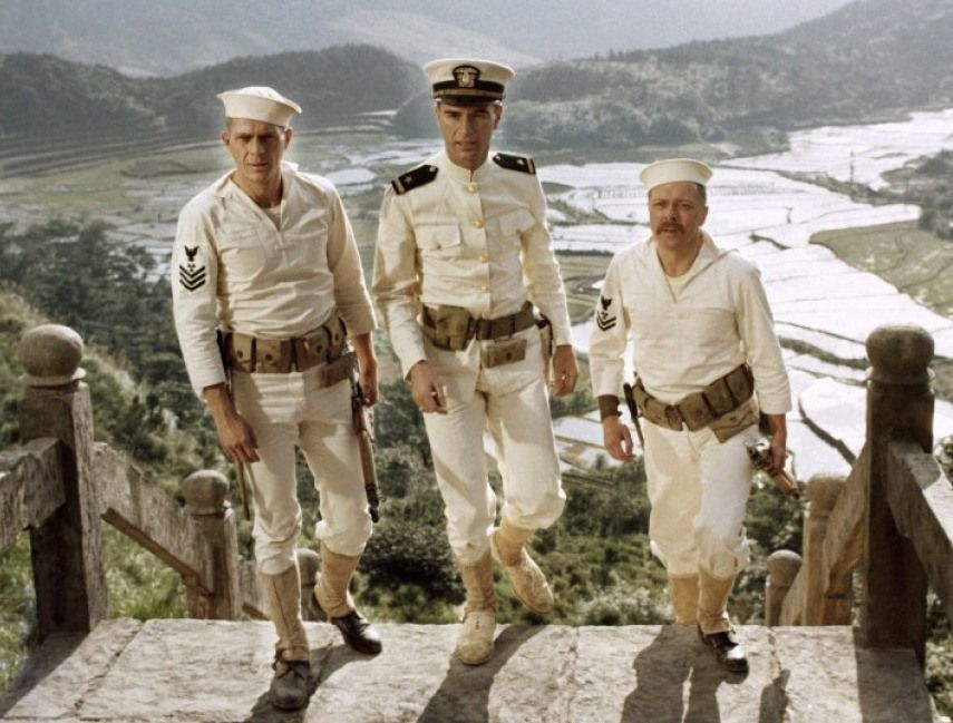 Steve McQueen, Richard Crenna, Richard Attenborough