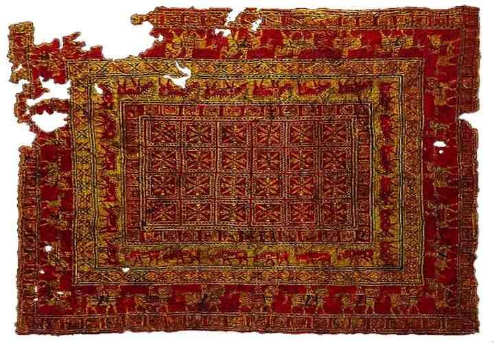 alfombra de Pazyryk