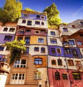 Un viaje por la arquitectura creativa » Casa Hundertwasser