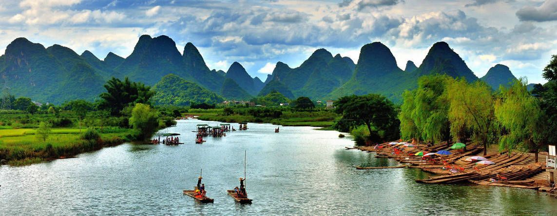 Un paseo por Guilin