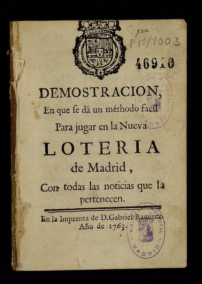 lotería de Madrid