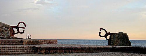 El peine del viento (Eduardo Chillida)