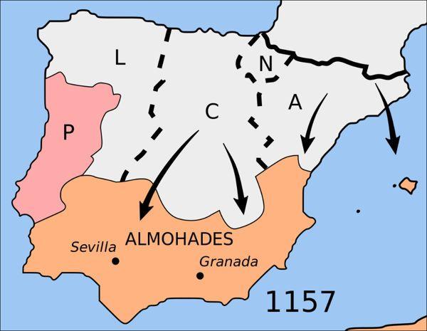 Los almohades, terror de los andalusíes » almohades