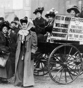El socialismo español ante el reconocimiento del sufragio femenino británico en 1928 » sufragio femenino